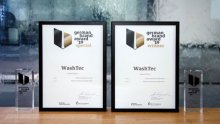 WashTec receives the German Brand Award in two categories