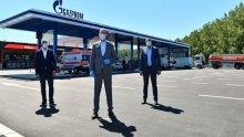 Serbia's NIS opens Gazprom fuel station in Belgrade motorway