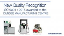 Dover Fueling Solutions Awarded ISO Quality Management Certification for Dundee Manufacturing Facility