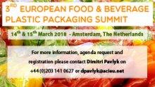3rd European Food & Beverage Plastic Packaging Summit