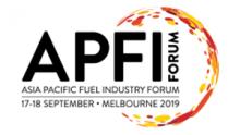 Asia Pacific Fuel Industry Forum - APFI 2019