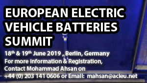 European Electric Vehicle Batteries Summit 2019