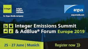 Integer Emissions Summit & AdBlue® Forum Europe 2019