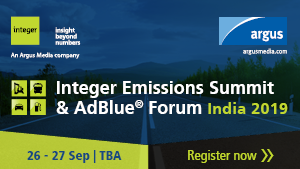 Integer Emissions Summit & AdBlue® Forum India 2019