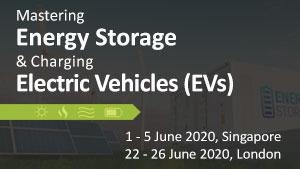 Energy Storage & Electric Vehicles 2020 – Singapore