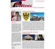 HecNews - Hectronic Company Magazine Issue 01/17