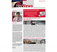HecNews - Hectronic Company Magazine Issue 02/17