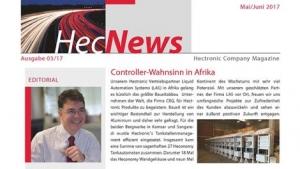 HecNews - Hectronic Company Magazine Ausgabe 03/17