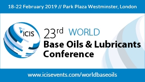23rd ICIS World Base Oils & Lubricants Conference