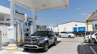 Overview of the global growth in hydrogen fuelling stations