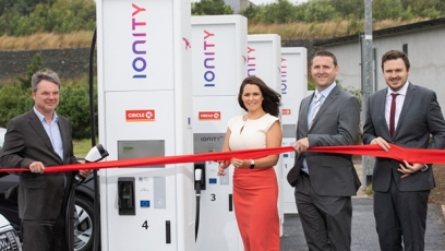 Circle K installs Ireland's first high speed EV chargers