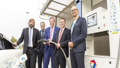 Total, Linde open hydrogen station in Cologne/Bonn airport