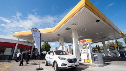 Shell unveils first retail hydrogen filling station in Canada
