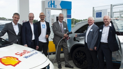 New hydrogen refuelling station opens in Germany