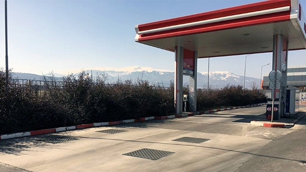 Easily removable Fibrelite covers installed for LUKOIL in Bulgaria