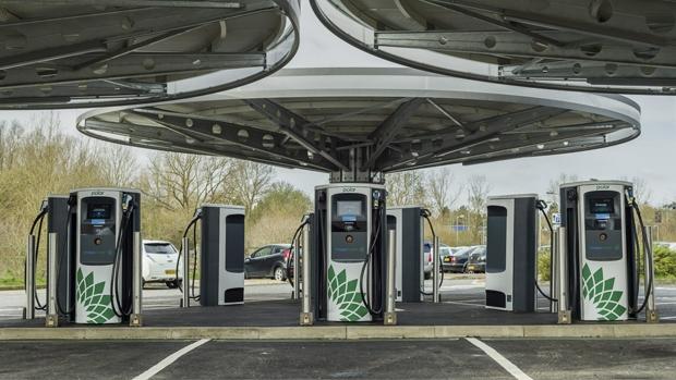 UK's largest public EV rapid charging hub inaugurated