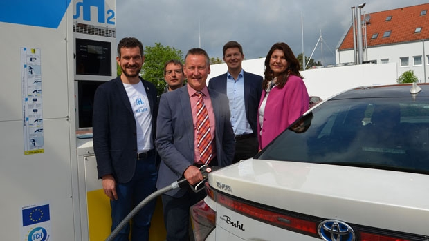 New hydrogen refueling stations in Germany