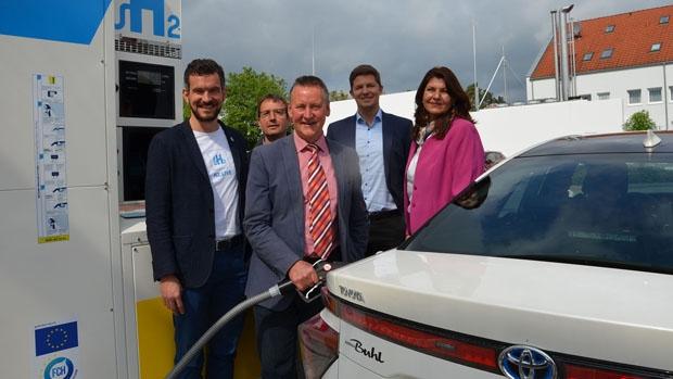 Nuevas estaciones de servicio de hidrógeno en Alemania