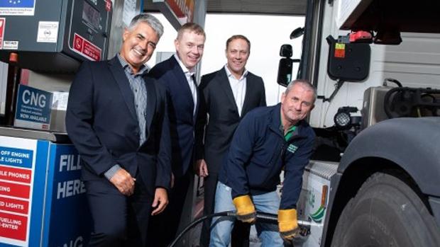 Irlanda: Gas Networks Ireland y Circle K lanzan la primera estación pública de servicio de GNC