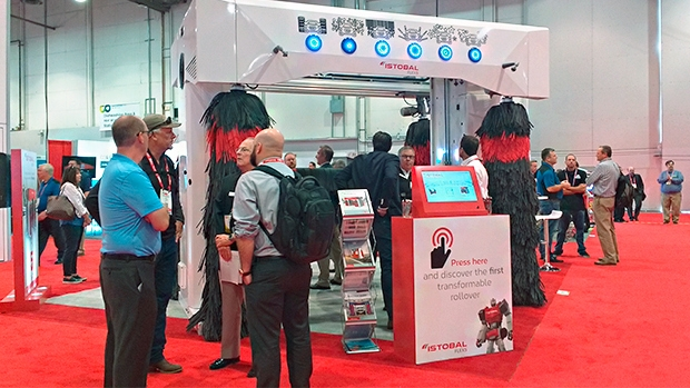 Istobal booth at the NACS Show 2018