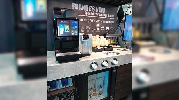 New brand image and technical innovations exclusively at the Franke booth at Host 2019