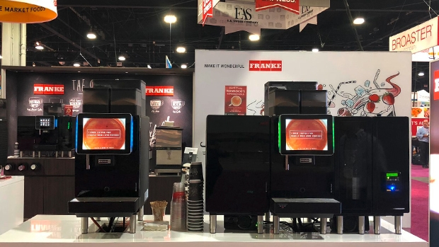 Franke Coffee Systems Americas showcases automated coffee equipment at 2019 NACS Show