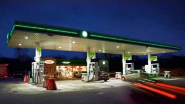 The Netherlands' first petrol station with 100% LED lighting from