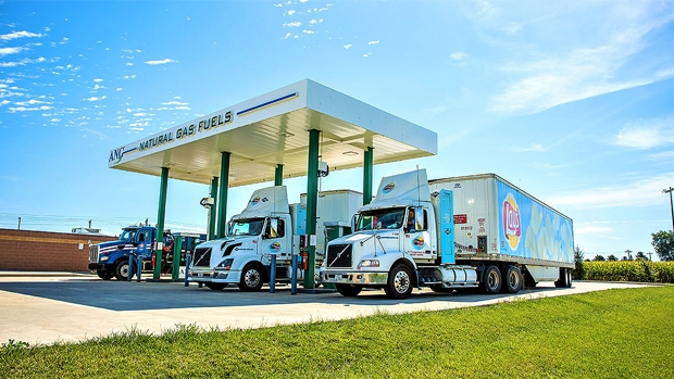 Public natural gas filling station to open in California
