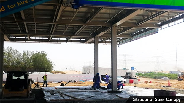 Furbishing service stations from the ground up
