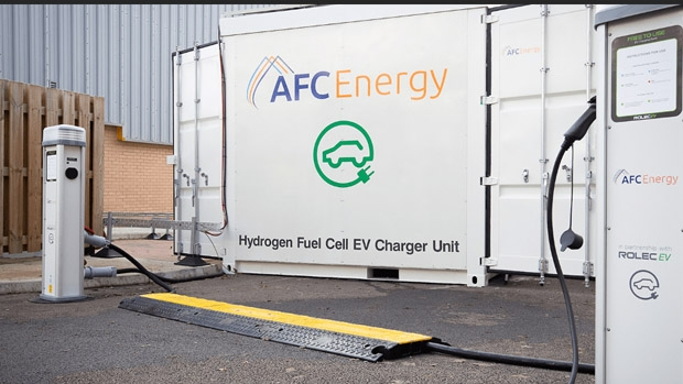 AFC launches off-grid EV charger powered by fuel cells