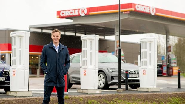 Håkon Stiksrud, Head of E-mobility at Circle K Europe