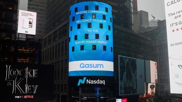 Gasum se incorpora como miembro del Nasdaq Nordic Commodities