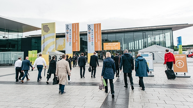 UNITI expo takes place every two years in Stuttgart, Germany