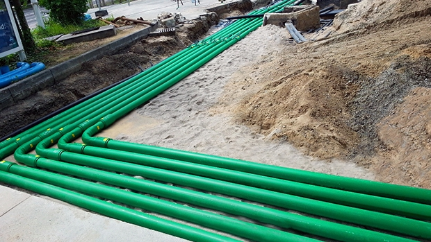 BP-Aral upgrades Leipzig site from steel to KPS plastic double wall piping