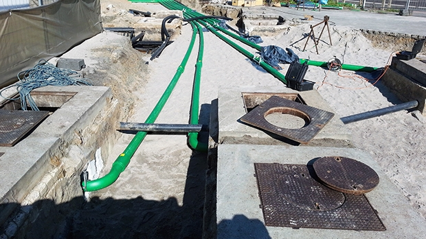 A key requirement of this project was limited downtime