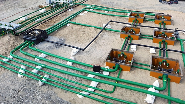 KPS piping had to be installed within 5 working days to meet the strict project deadline
