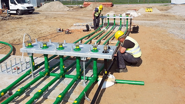 KPS provided an installer friendly solution to meet BP-Aral's strict project deadline