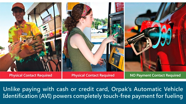Fueling in the time of COVID-19: AVI payment without any physical contact