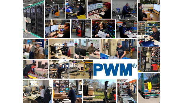 PWM employees in the production were separated in two shifts and held the position on site.