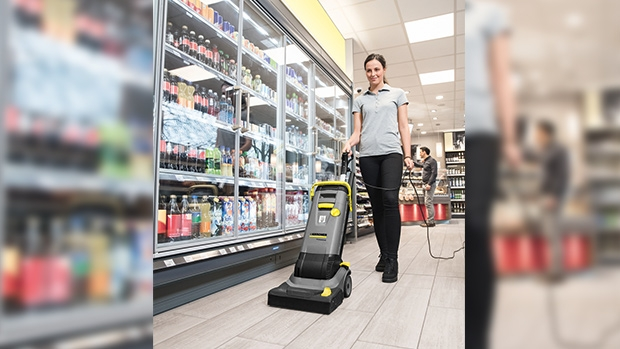 Kärcher scrubber driers are ideal for the wet cleaning of hard and 	resilient floor coverings. Absorption permanently removes germs, 	minimising the potential for recontamination.