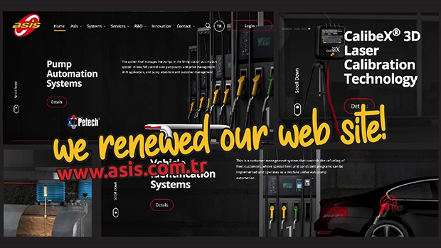 Asis Automation welcomes business partners with its renewed website