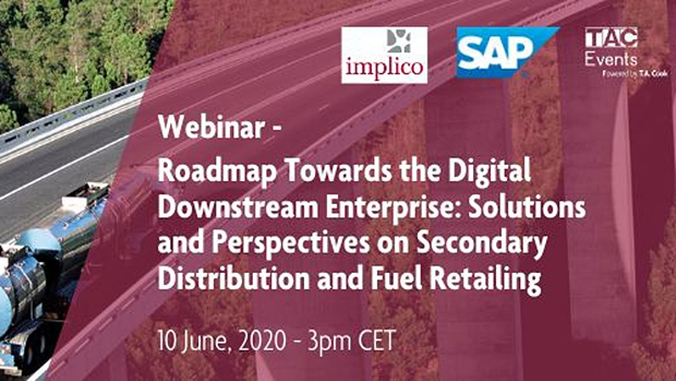 Roadmap towards digitalization: On-demand webinar for downstream oil & gas with SAP and Implico