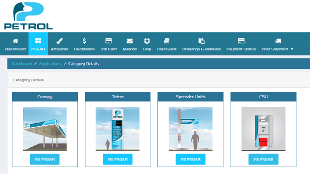 A digitized Project Management application for Petroleum RVI roll-outs