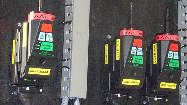 Dead Man Controls in ship loading facilities