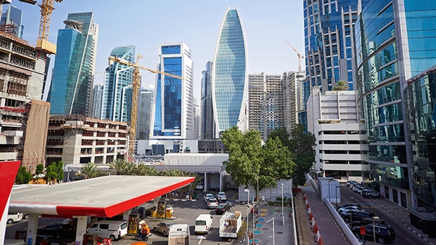 ENOC station in the centre of Dubai. The company's innovative approach is in line with the spirit of the emirate