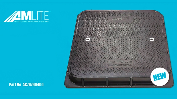 Amlite launches new range of composite manhole covers