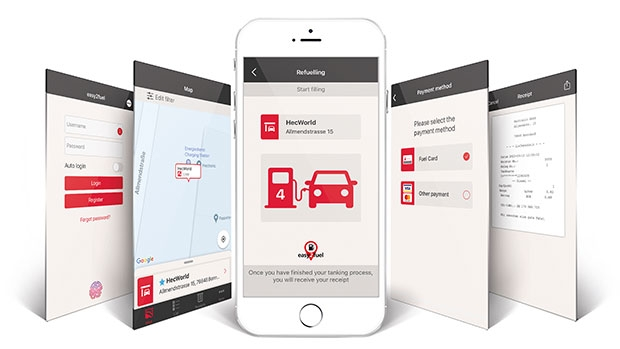 Payment app easy2fuel - The future-proof solution for mobile payment