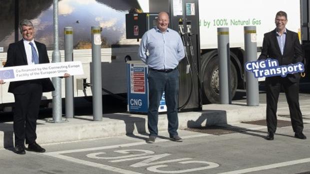 Segunda gasinera pública de GNC en Irlanda