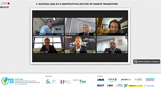 Virtual 35th International Scientific & Expert Meeting of Gas Professionals succesfully held in October