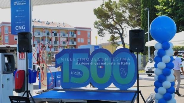 L'Italia raggiunge le 1.500 stazioni di servizio GNV